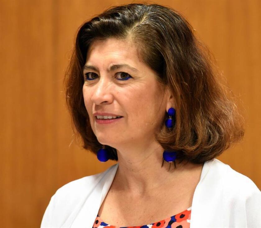 La directora de Gabinete de la OCDE, Gabriela Ramos. EFE/Archivo