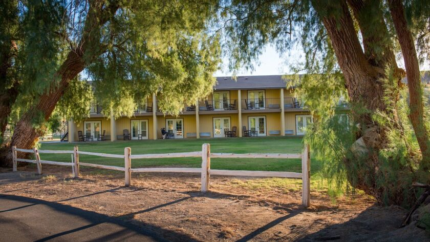 The ranch has 224 rooms.