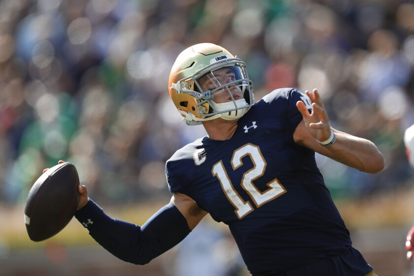 New Mexico Notre Dame Football