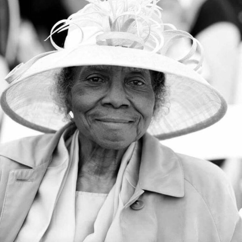 Ethel Mae Buchanon was known for the hats she wore to public events.