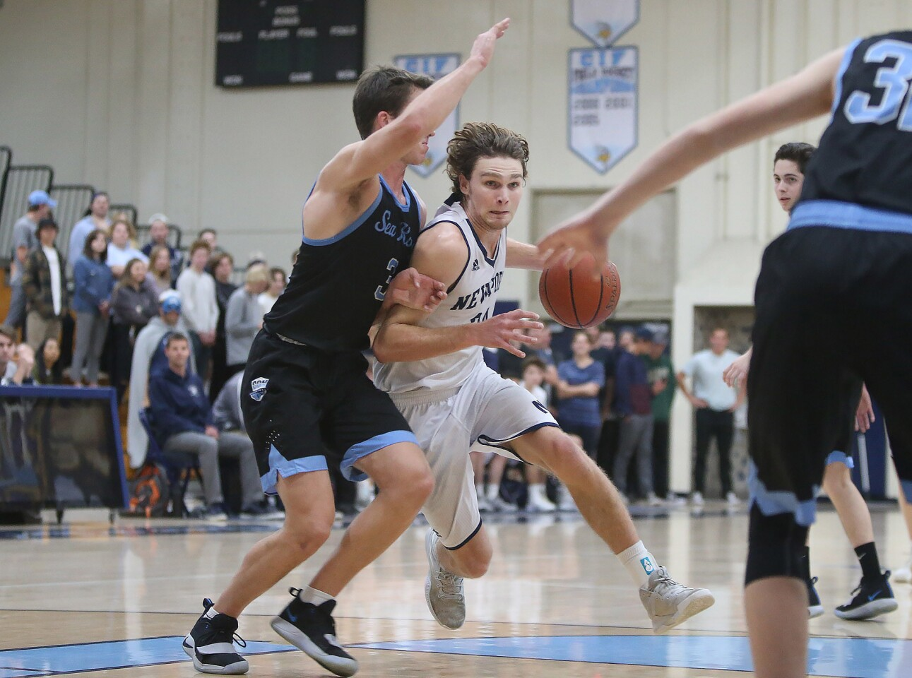 Photo Gallery: Corona del Mar vs. Newport Harbor in boys' basketball
