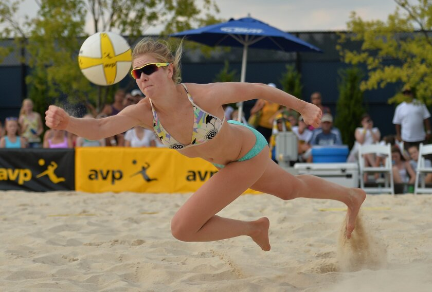 Summer Ross lives in Carlsbad and played for Carlsbad High. She is now on the AVP Tour.