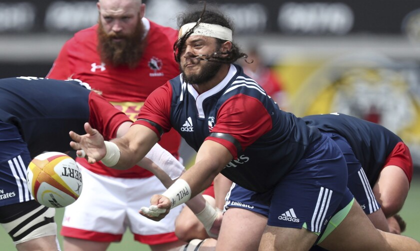 Rugby's gung-ho spirit brings out the best in players' post