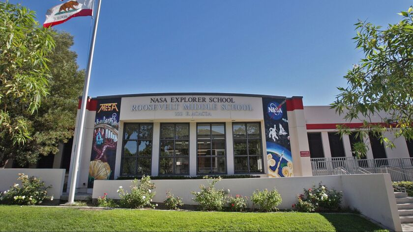 Roosevelt Middle School in Glendale on Friday, August 15, 2014. Roosevelt began this school year wit
