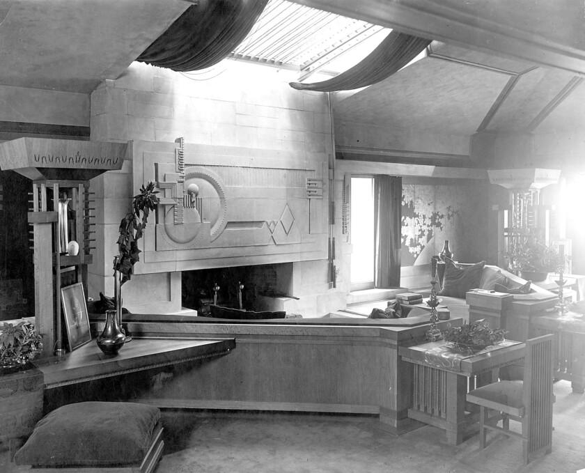 Hollyhock House circa 1927