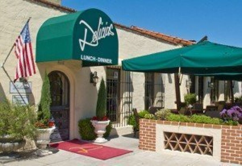 Delicias Restaurant exterior.