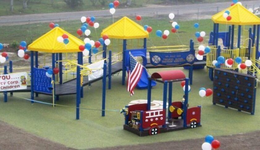 Jersey firefighters to build 26 playgrounds for Newtown victims