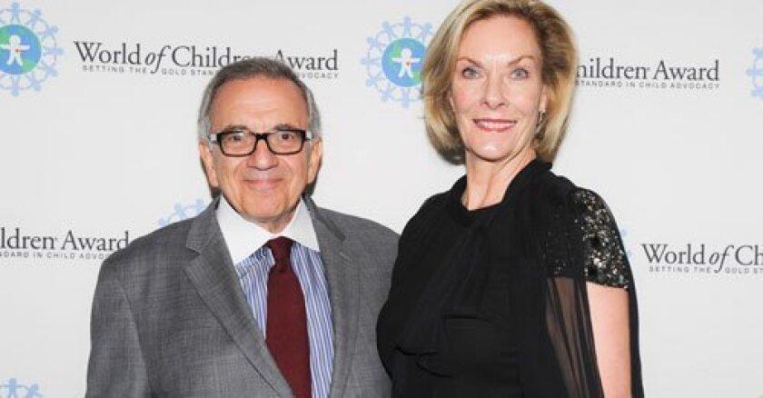Harry and Kay Leibowitz run the nonprofit behind the World of Children Award. Courtesy photo