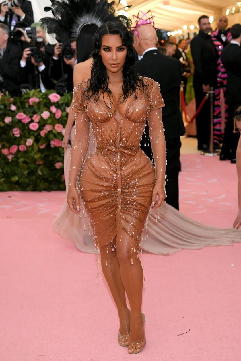 Kim Kardashian West at the 2019 Met Gala