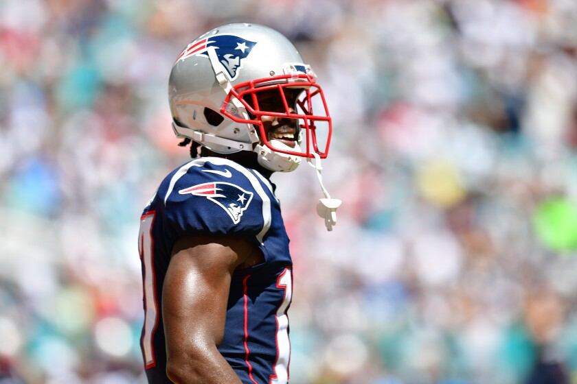 New England Patriots receiver Antonio Brown is no longer affiliated with Nike, according to a company repesentative.