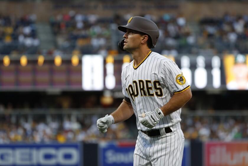 The Padres' Adam Frazier