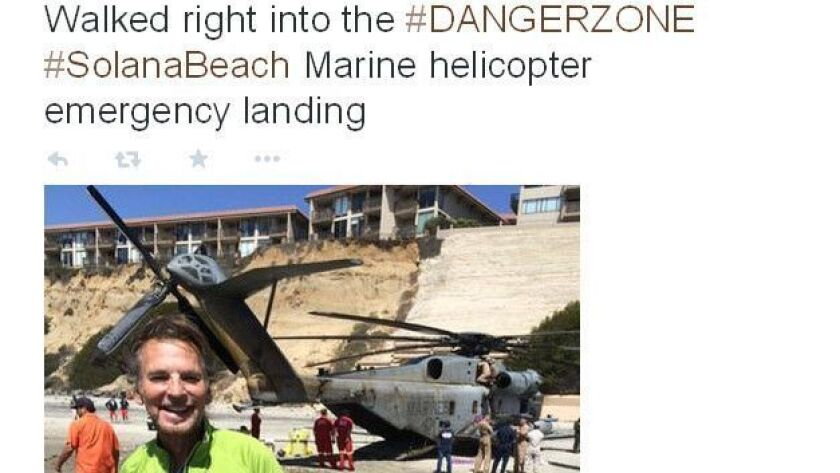 CAN ONLY RUN WITH REFERENCE TO KENNY LOGGINS' TWITTER POST Screen grab from Kenny Loggins' Twitter t