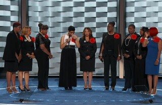 'Mothers of the Movement' highlight Black Lives Matter at the Democratic National Convention