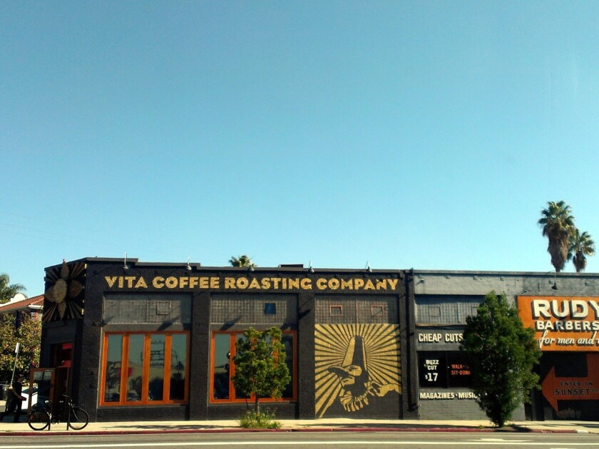 Seattle-based Caffe Vita has opened a branch on Sunset Boulevard in Silver Lake.