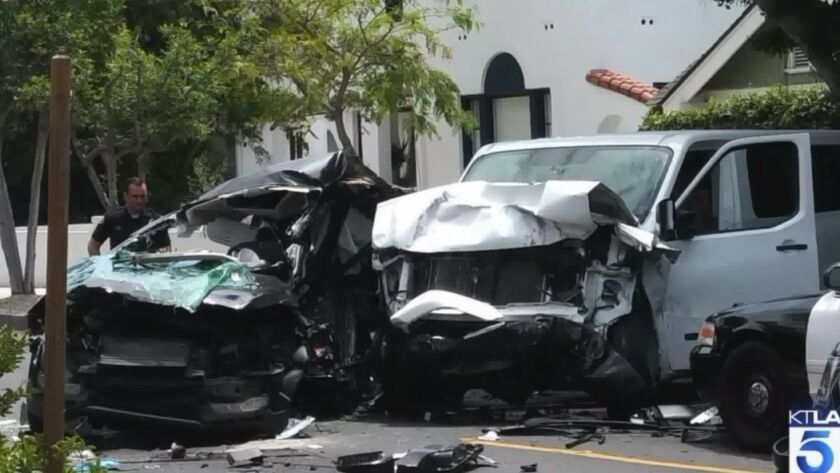 Woman and 5 dogs killed after police pursuit ends in crash in Long