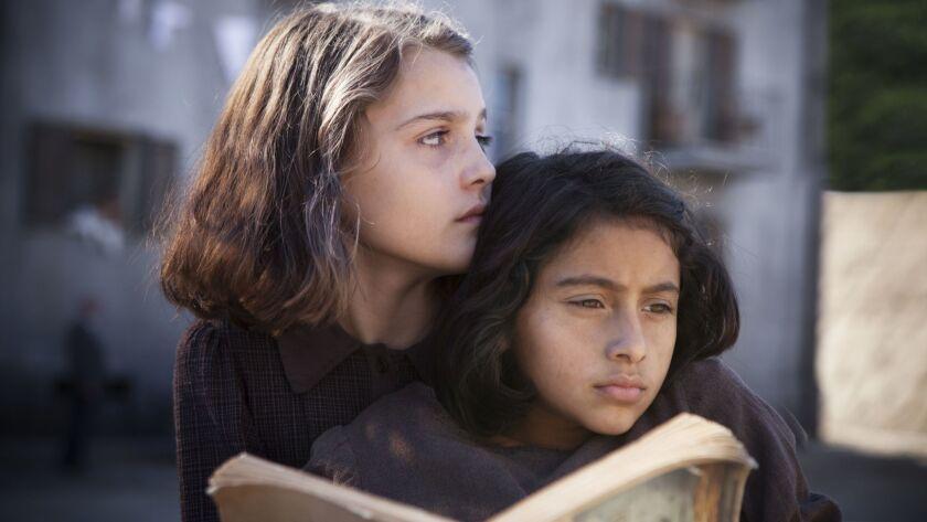 "(L-R) Elisa Del Genio and Ludovica Nasti star in the HBO series ""My Brilliant Friend,"" based on Ele"