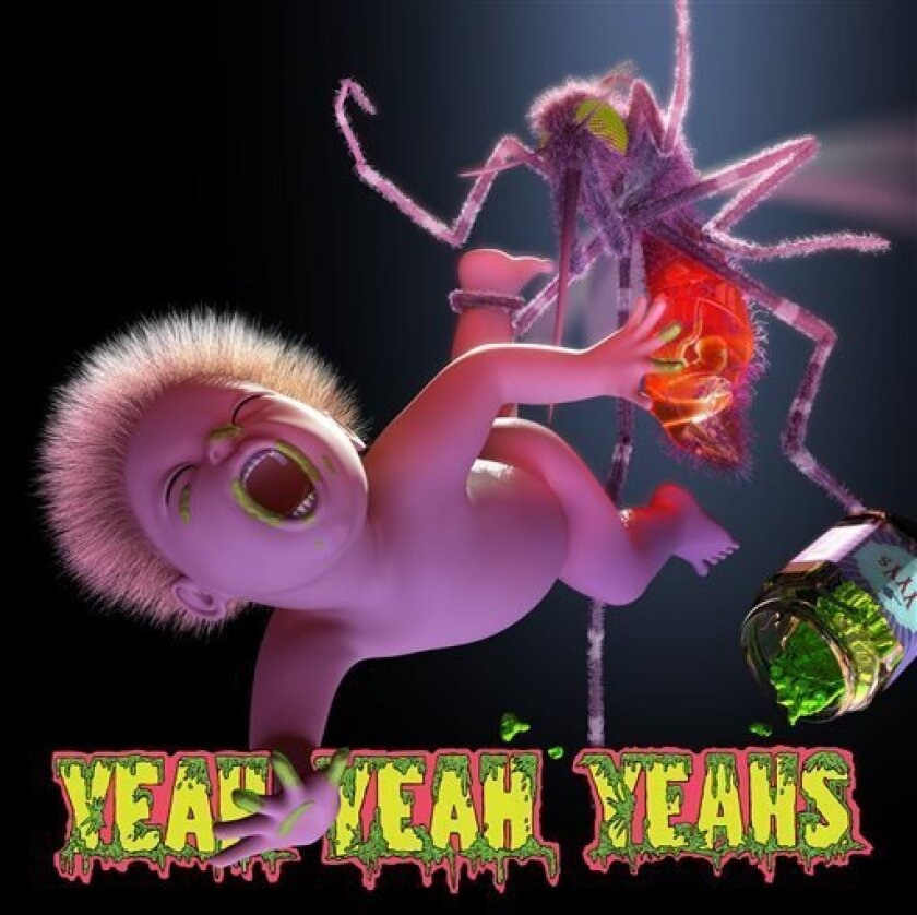 """This CD cover image released by Interscope Records shows """"Mosquito,"""" by the Yeah Yeah Yeahs. (AP Photo/Interscope Records)"""