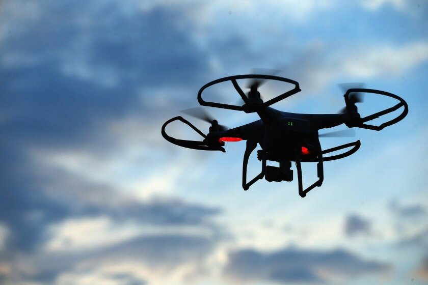 Drones will be banned under new ordinance in Poway, but only at times of emergency and only in certain areas.