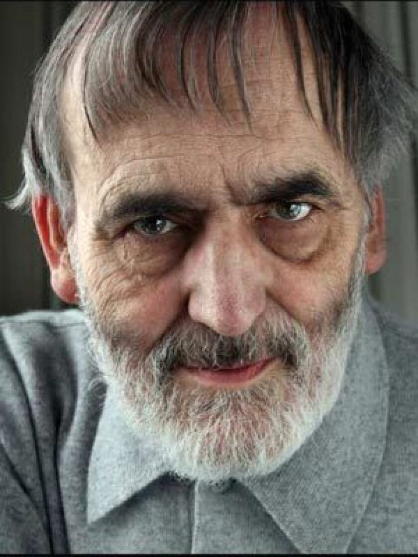 ALL HAIL: Helmut Lachenmann, 72, is considered by many to be one of the world's most distinguished living composers.