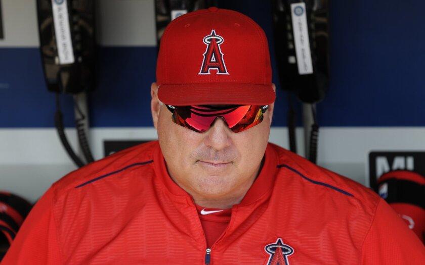 El entrenador de los Angels, Mike Scioscia, habló sobre el desempeño del lanzador de Dodgers Zack Greinke.