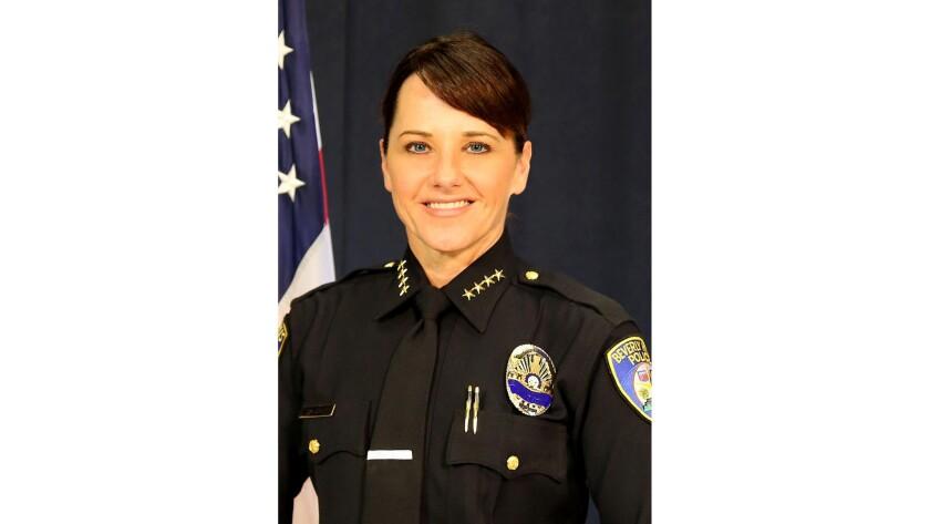 Beverly Hills police chief Sandra Spagnoli.