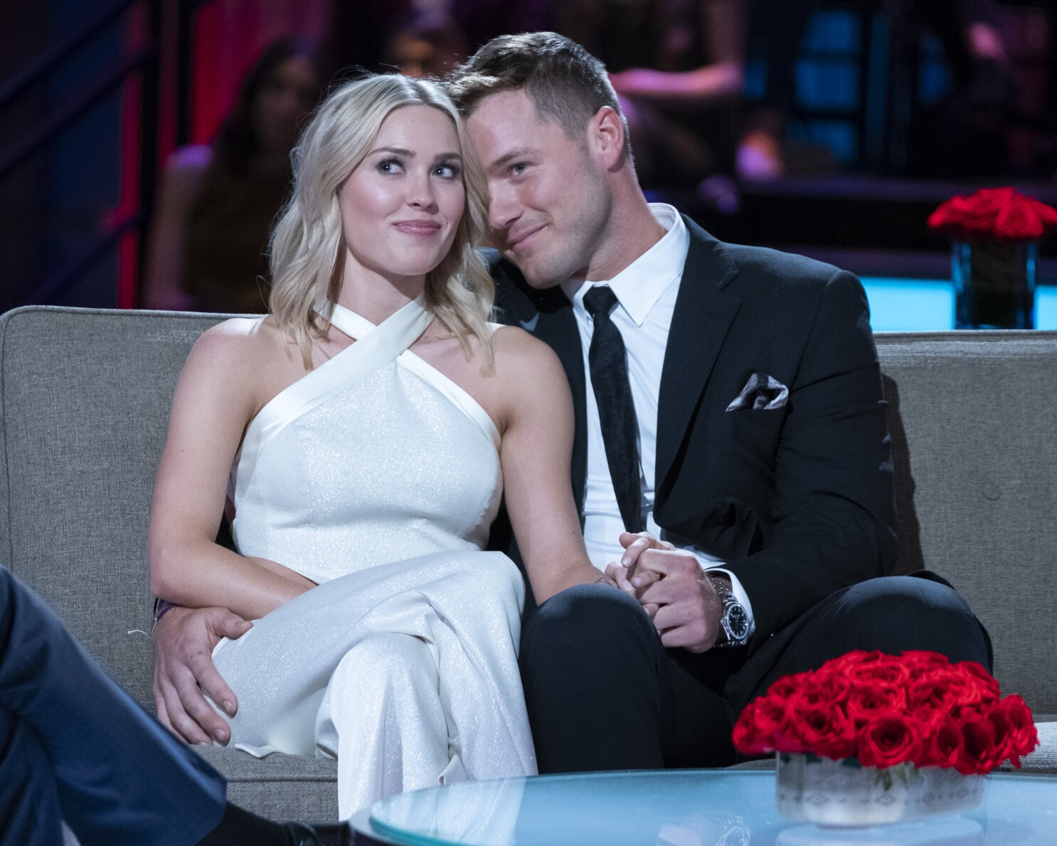 Bachelor Star Colton Underwood Hit With Restraining Order Los Angeles Times