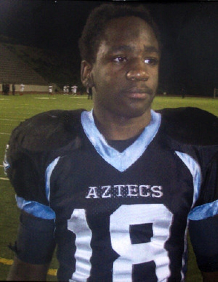 Kendrec McDade, 19, was fatally shot by police March 24, 2012, during a brief pursuit initiated by Oscar Carrillo¿s claim in a 911 call that he had been threatened with a gun.