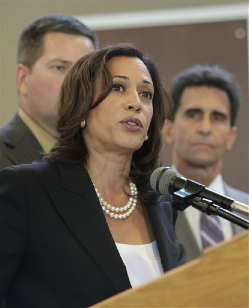 California Attorney General Kamala Harris. (AP Photo/Rich Pedroncelli)