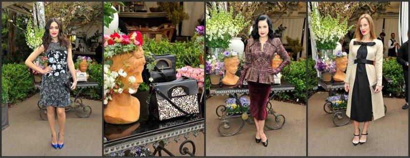 Luncheon celebration of Louboutin's Passage handbag collection