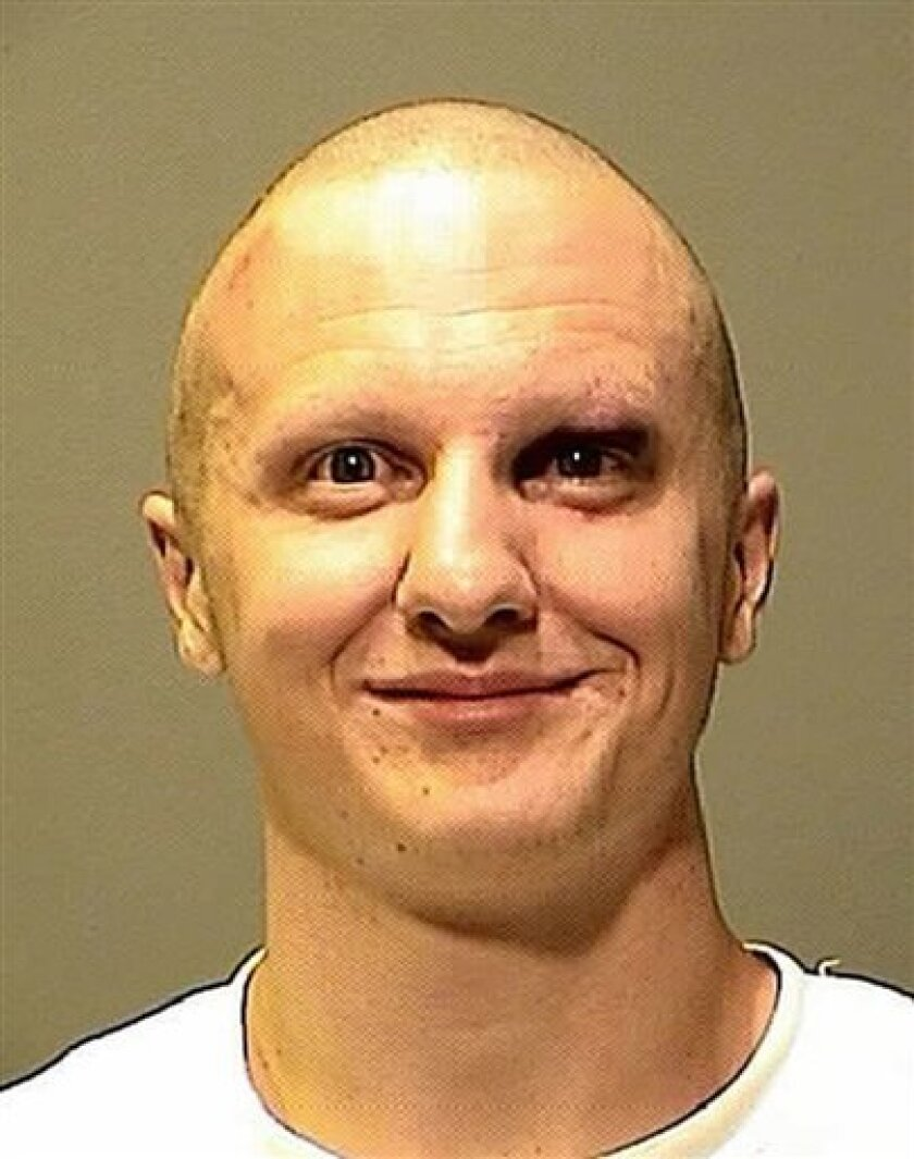 FILE - This Jan. 8, 2011 file photo released by the Pima County Sheriff's Office shows Jared Loughner. In a ruling late Monday, March 21, 2011, an Arizona judge has ordered Loughner, the suspect in Tucson's shooting rampage, to undergo a mental evaluation at a specialized facility in Springfield, Mo., as soon as possible. U.S. District Judge Larry Burns says that the evaluation will be videotaped and provided to prosecutors and defense attorneys. (AP Photo/Pima County Sheriff's Dept. via The Arizona Republic, File)