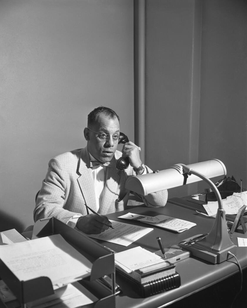 Percy Steele Urban League Executive Director, 1954