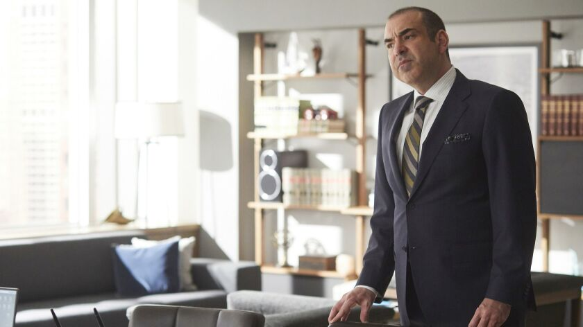 """Rick Hoffman in """"Suits"""" on USA."""