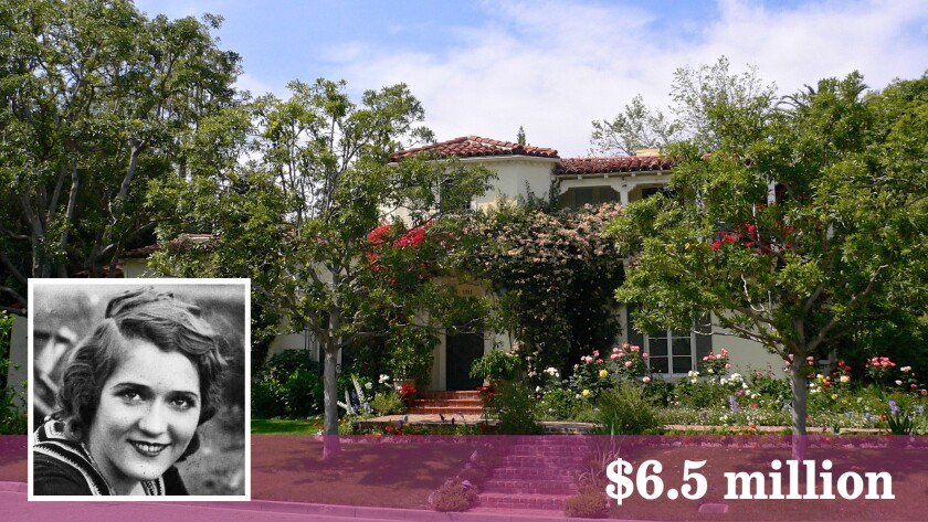 The Beverly Hills home that actress Mary Pickford purchased for her mother was built in 1929.