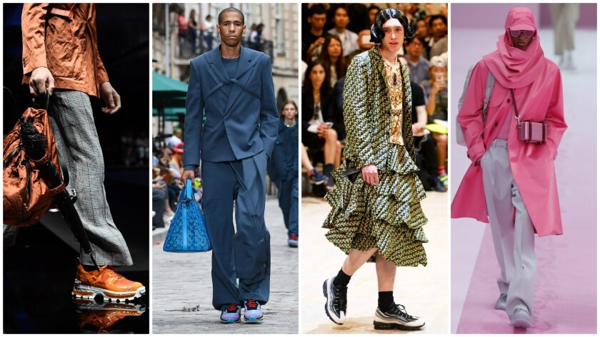 Menswear Trends 2020.Gender Bending Fashion And 5 Other Menswear Trends For