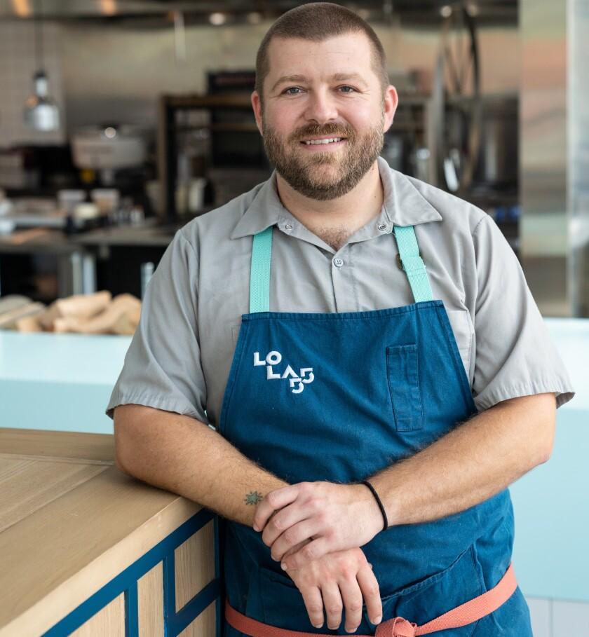 Drew Bent, Lola 55 executive chef.