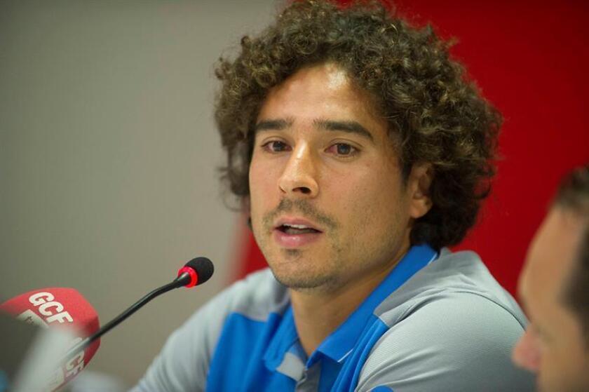 El portero mexicano Guillermo Ochoa.