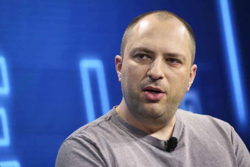 WhatsApp CEO Jan Koum, seen here in October 2016, is planning to leave the company after clashing with its parent, Facebook.