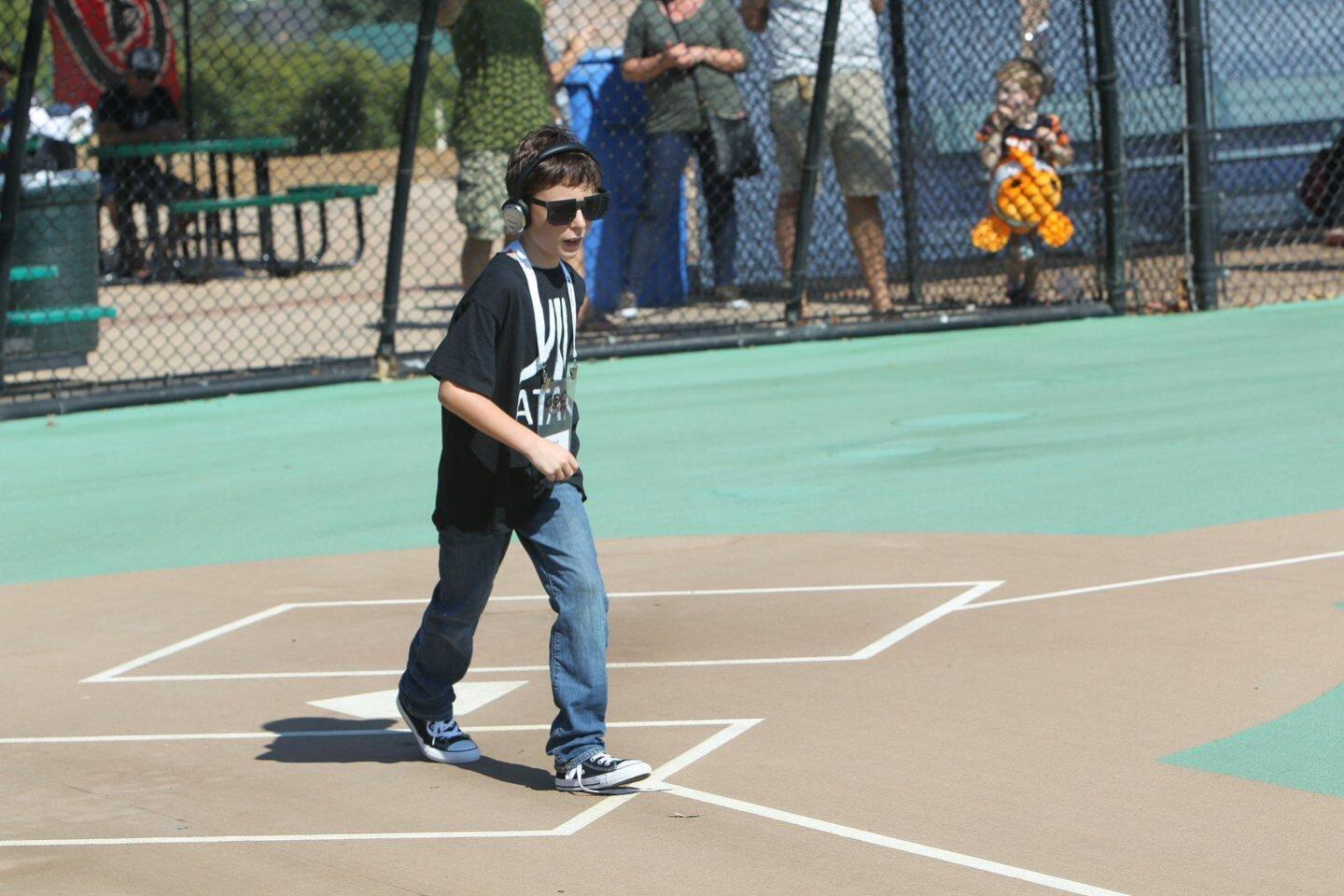 Miracle League Celebrity Pitcher Day