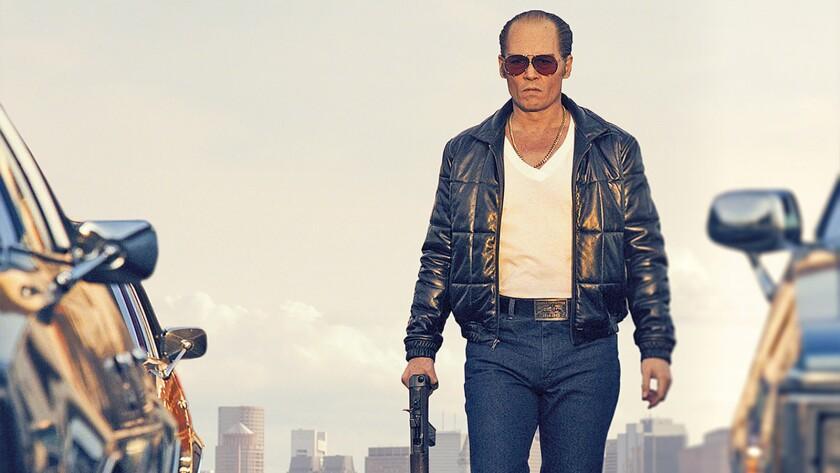 "Johnny Depp stars in the 2015 crime drama ""Black Mass"" on HBO."
