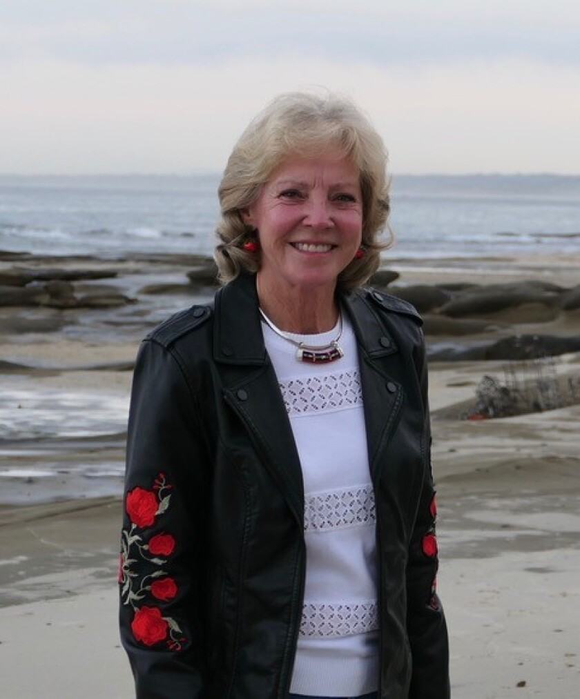Ann Dynes' time as La Jolla Parks & Beaches president ends this month after four years.