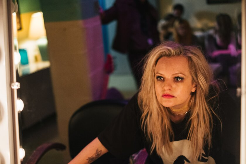 """Elisabeth Moss in a scene from """"Her Smell."""" Credit: Donald Stahl/ Gunpowder & Sky"""