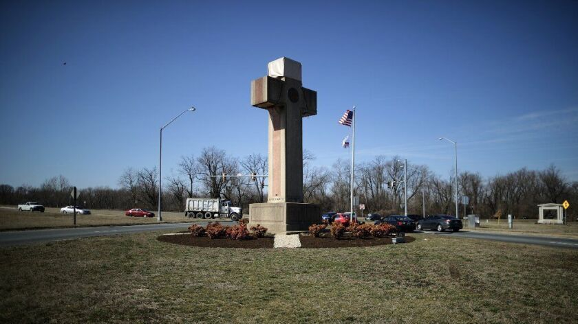 Constitutionality Of Memorial Cross For WWI Military Fallen In Maryland Debated