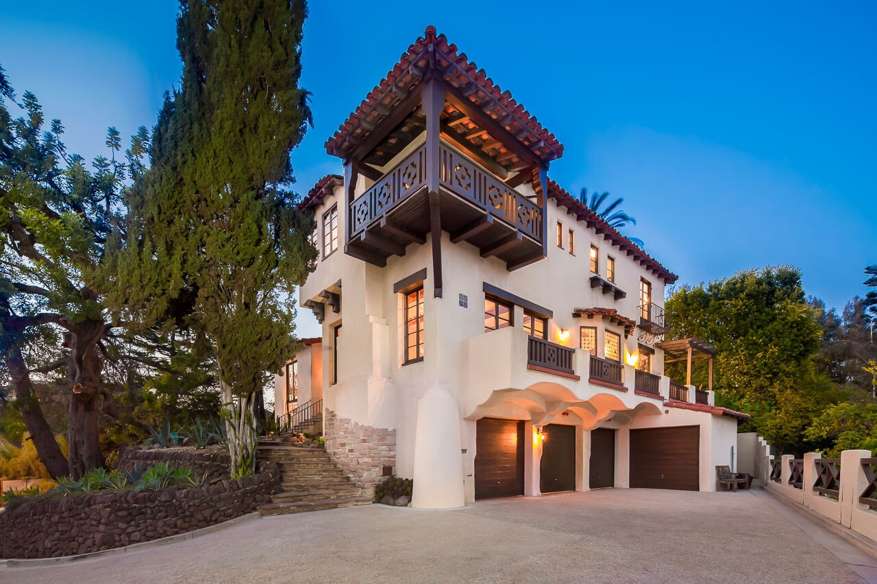 Home of the Day: Hillside hacienda from Hollywood's heyday