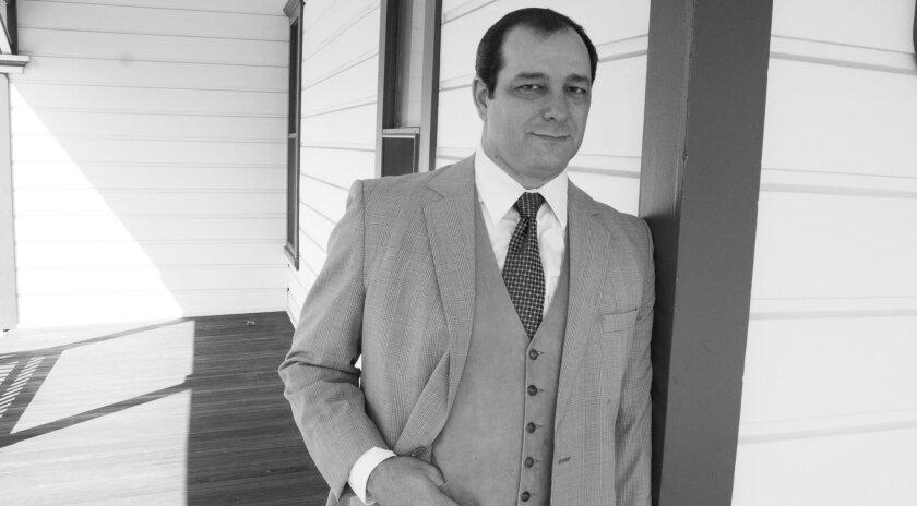 "Manny Fernandes stars as Atticus Finch in ""To Kill a Mockingbird"" at New Village Arts Theatre in Carlsbad."