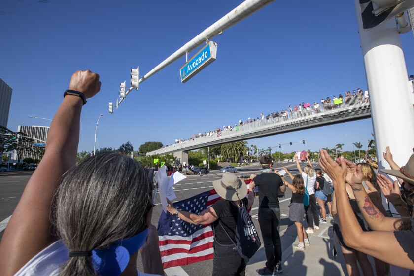 Black Lives Matter rallies have inspired Granada Hills students to denounce racist remarks.