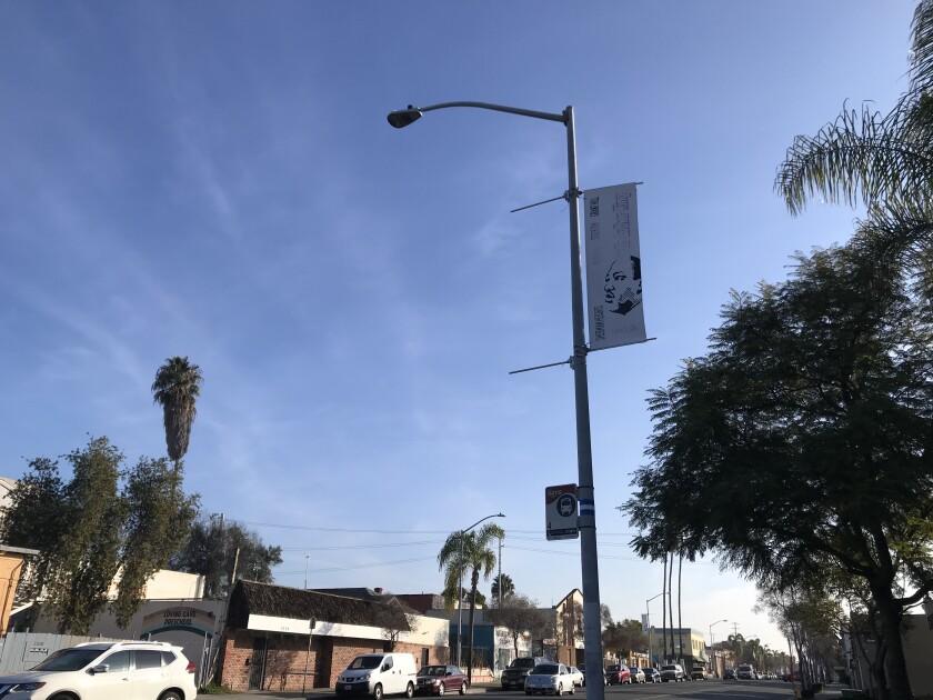 Street banner contest in Logan Heights