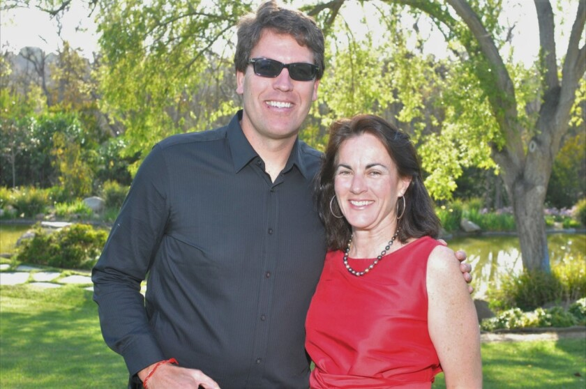 Rachel Leheny and her husband, Ed Scheibler, hosted a fundraiser for the Clearity Foundation at their home a few years ago.
