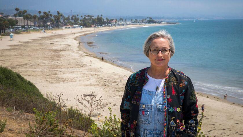 SANTA BARBARA, CA -- THURSDAY, AUGUST 4, 2016: Coastal Steward Susan Jordan, Executive Director Cal