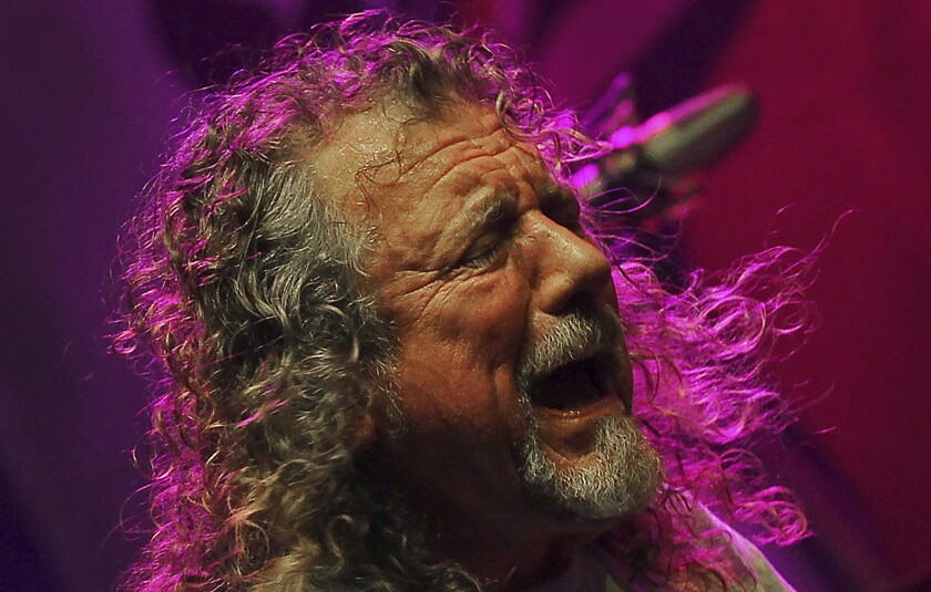 Robert Plant brings latest group to U.S. for summer tour