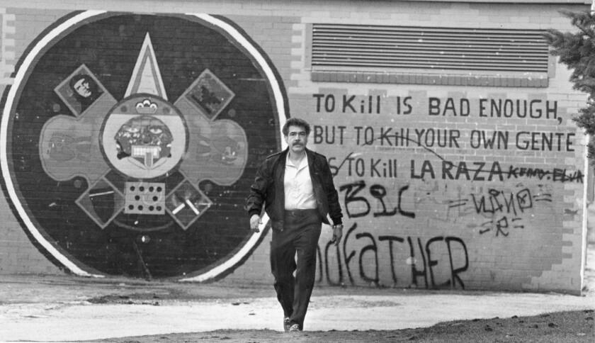 "1983 file photo of Rudolfo ""Corky"" Gonzales."